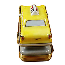 "Load image into Gallery viewer, Rochard ""Yellow Taxi - I Love New York"" Limoges Box"