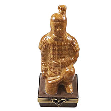 "Load image into Gallery viewer, Rochard ""Terracotta Soldier"" Limoges Box"