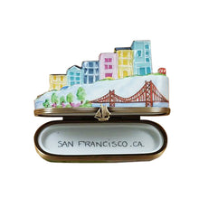 "Load image into Gallery viewer, Rochard ""San Francisco Street"" Limoges Box"