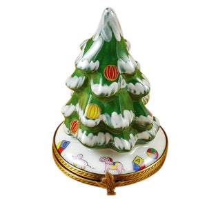 "Rochard ""Christmas Tree"" Limoges Box"