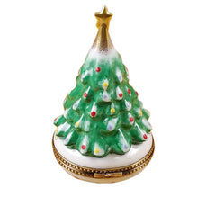 "Load image into Gallery viewer, Rochard ""Christmas Tree with Star"" Limoges Box"