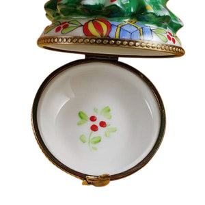 "Rochard ""Christmas Tree with Star"" Limoges Box"