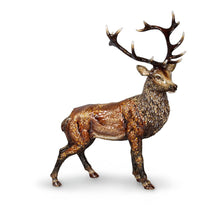 Load image into Gallery viewer, Jay Strongwater Terence Stag Figurine - Natural
