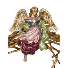 Load image into Gallery viewer, Jay Strongwater Ascending Angel Figurine & Stand
