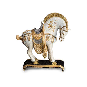 Jay Strongwater Braque Dynasty Horse Figurine