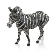 Load image into Gallery viewer, Jay Strongwater Stanley Zebra Figurine