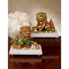 Load image into Gallery viewer, Jay Strongwater Yin Foo Dog Figurine
