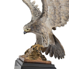 Load image into Gallery viewer, Jay Strongwater Baldwin Falcon Figurine