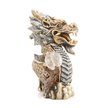 Load image into Gallery viewer, Jay Strongwater Apalala Imperial Dragon Figurine