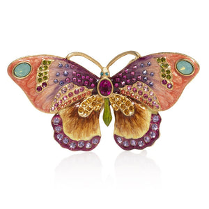 Jay Strongwater Madame - Butterfly Small Figurine
