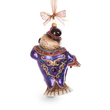 Load image into Gallery viewer, Jay Strongwater Jubilee Owl Glass Ornament