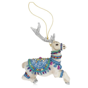 Jay Strongwater Vixen Glass Ornament