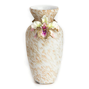 Jay Strongwater Loretta Orchid Vase