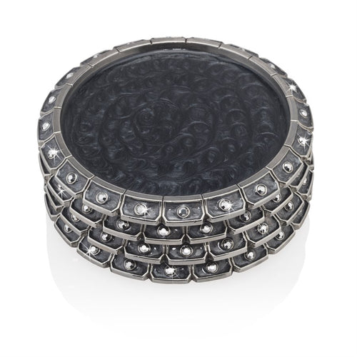 Jay Strongwater Bentley Jeweled Edge Coaster