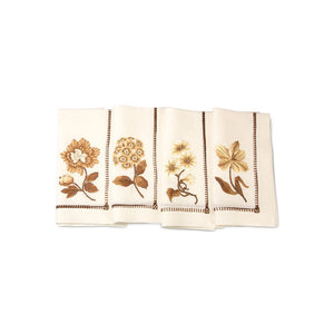 Jay Strongwater Floral Dinner Napkins - Set of 4