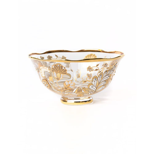 Jay Strongwater Jessa Vine Floral Small Bowl