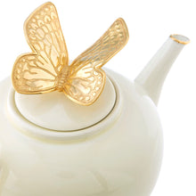 Load image into Gallery viewer, Jay Strongwater Mae Butterfly Teapot