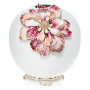 Jay Strongwater Dolly - Magnolia Vase