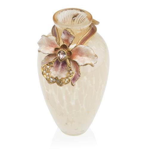 Jay Strongwater Audra Orchid Mini Vase