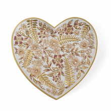 Load image into Gallery viewer, Jay Strongwater Aria Floral Heart Trinket Tray - Pink
