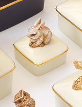 Load image into Gallery viewer, Jay Strongwater Lia Bunny Porcelain Box