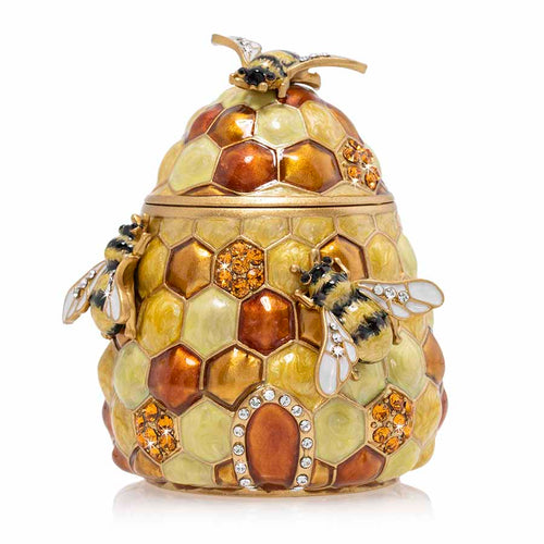 Jay Strongwater Honey Beehive Box