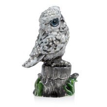 Load image into Gallery viewer, Jay Strongwater Hedwig Owl Box