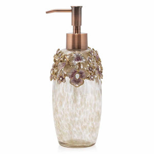 Jay Strongwater Hedy Bouquet Soap Pump