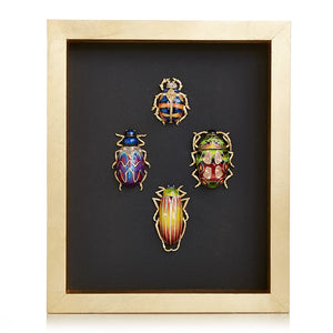 Jay Strongwater William Beetle Wall Art