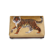 Load image into Gallery viewer, Jay Strongwater Desmond Tiger Ottoman