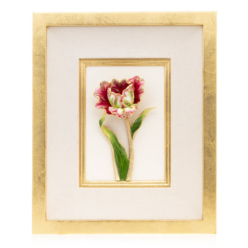 Jay Strongwater Brooke - Tulip Wall Art