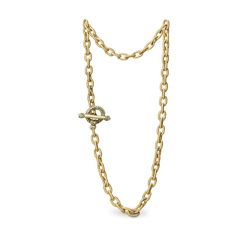 Jay Strongwater Jeanne Toggle Necklace - 18.5