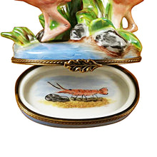 Load image into Gallery viewer, Two Flamingos Limoges Box