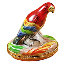 Load image into Gallery viewer, Red Parrot Limoges Box
