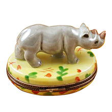 Load image into Gallery viewer, Rhinoceros Limoges Box