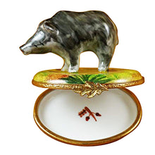 Load image into Gallery viewer, Wild Boar Limoges Box