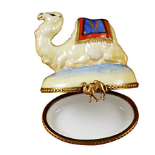 Load image into Gallery viewer, Camel Limoges Box