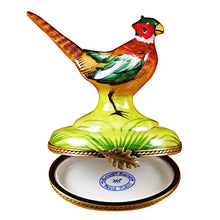 Load image into Gallery viewer, Pheasant Limoges Box