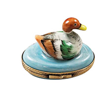 Load image into Gallery viewer, Mallard Duck Limoges Box