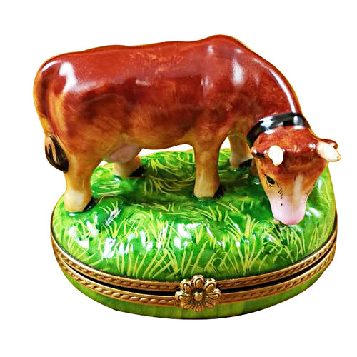 Brown Cow Limoges Box