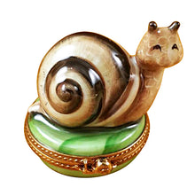 Load image into Gallery viewer, Escargot - Snail Limoges Box