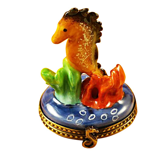 Seahorse Limoges Box