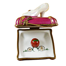 Load image into Gallery viewer, Cinderella Slipper Limoges Box