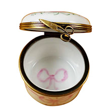 Load image into Gallery viewer, Pink First Curl Limoges Box