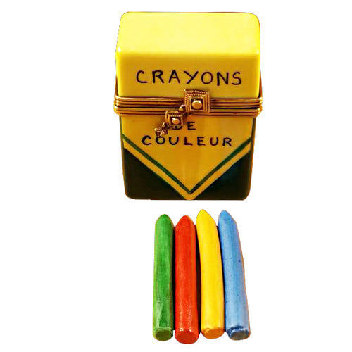 Crayon Box Limoges Box