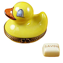 Load image into Gallery viewer, Duck with Soap Limoges Box
