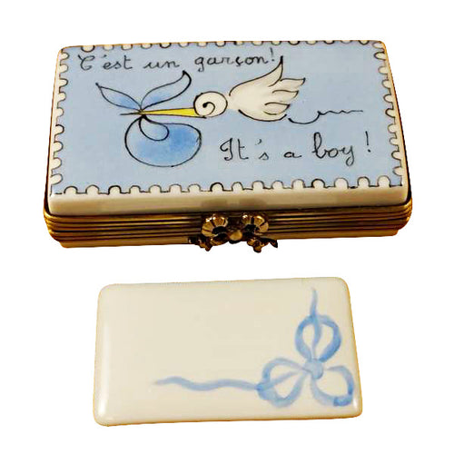 It's A Boy! Limoges Box