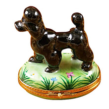Load image into Gallery viewer, Black Poodle Limoges Box
