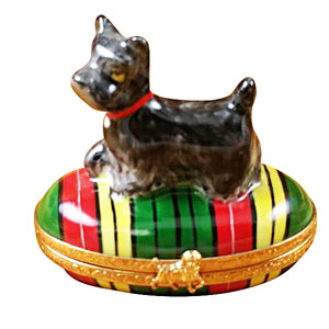 Black Scottie Limoges Box