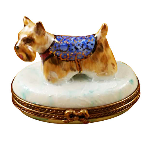 West Highland Terrier Limoges Box